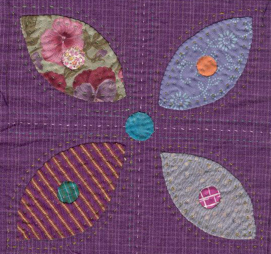 applique quilt block