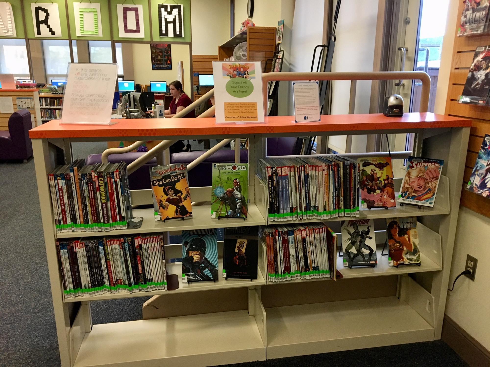 Our Superhero Comics Collection