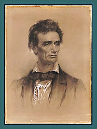 Lincoln Portrait by Charles Barry