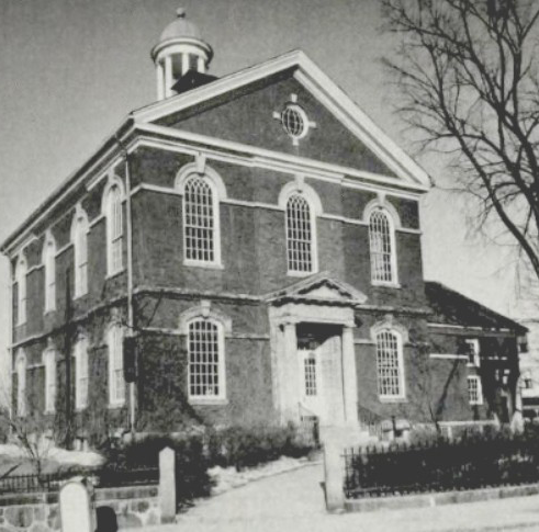 Memorial Hall Library in 1927