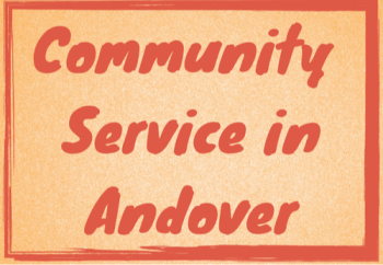 Community Service in and Around Andover