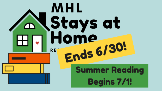 MHL Stays at Home Reading Challenge