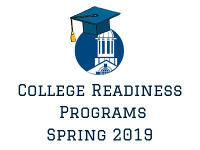 College Readiness Programs 2019