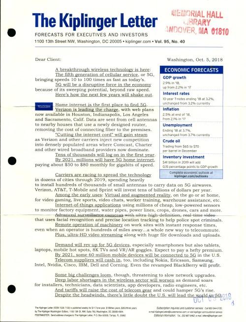 The Kiplinger Letter