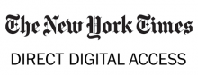 The New York Times direct digital access logo