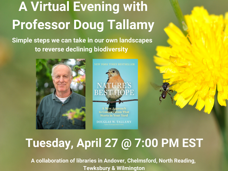 Virtual evening with Prof. Doug Tallamy