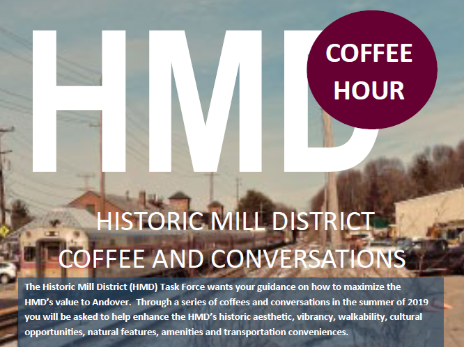 Historic Mill District coffee and conversations