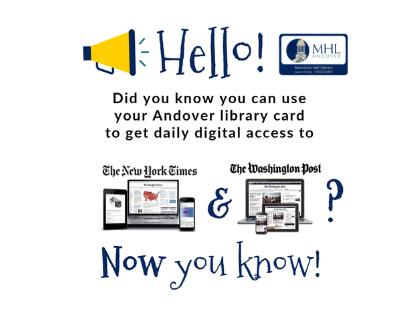 NY Times & Washington Post