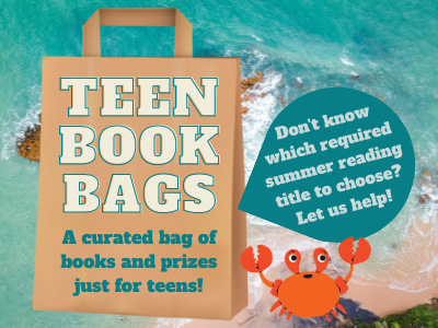 Teen Book bags a curated bag of books and prized for teens