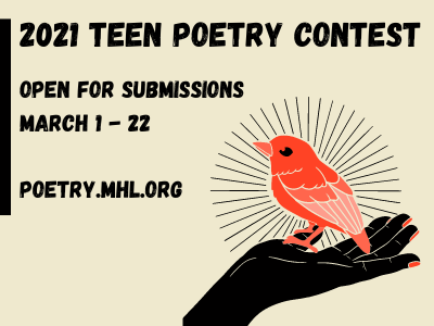 teen poetry contest opens march 1 to 22