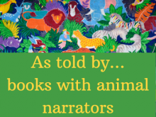 books with animal narrators