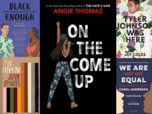 black history teen title book covers