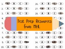 Test Prep Resources from MHL