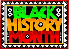 black history month text
