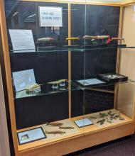 folk lure display