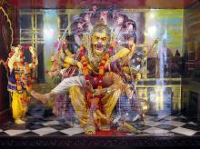 Hari Krishna Temple Diarama, Mumbai, Towner