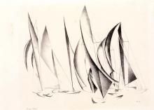 Charles Sheeler, Yachts, 1924