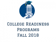 College Readiness Programs 2018