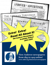 Andover Historical Newspaper Digitization Project
