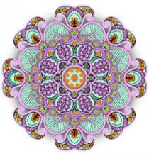 mandala colored