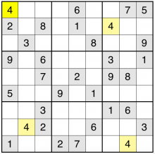 unsolved sudoku grid