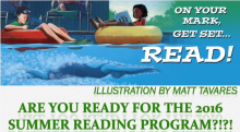 On Your Mark, Get Set … READ! 2016 Summer Reading Program Promo