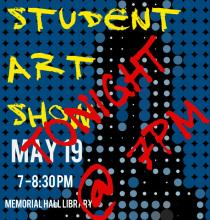 Teen Art Show Tonight at 7PM