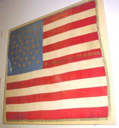 Grand Old Army 38 Star Banner