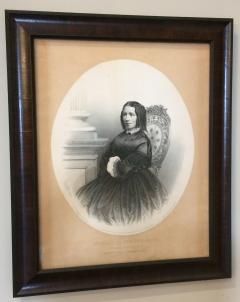 portrait of Harriet Beecher Stowe