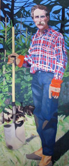 Flannel Jack by Karen VanWelden-Herman