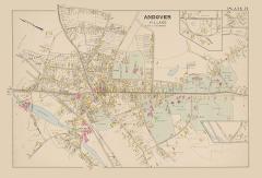 George Thorlin Andover Village Map