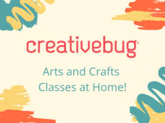 arts and crafts classes at home from creativebug