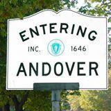 Entering Andover