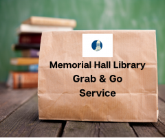memorial hall library grab & go