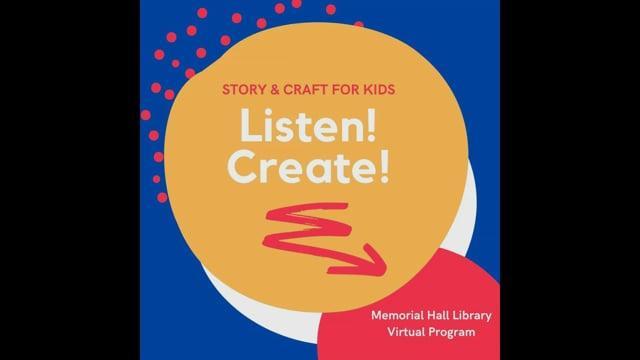 Listen! Create!: Celebrate YOU!