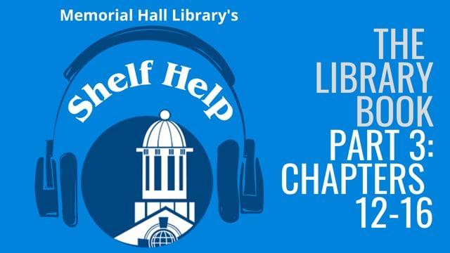 Shelf Help Podcast Episode 3