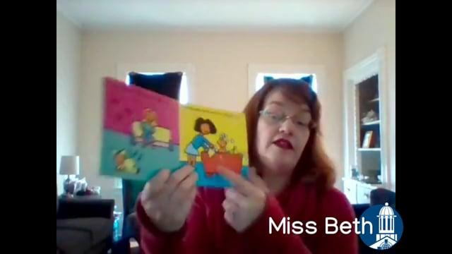 Wiggle Words: April 6 with Miss Beth