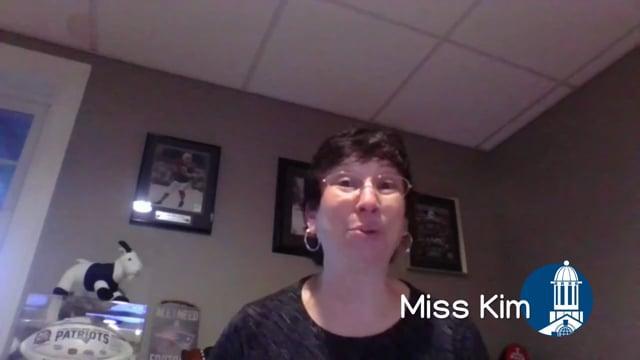Miss Kim ready to start reading