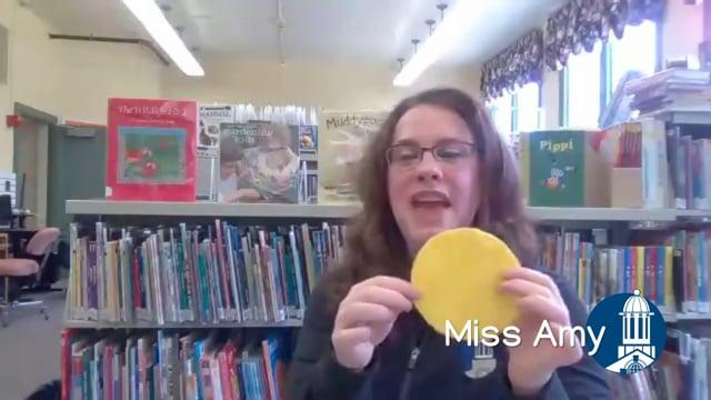 Rhyme Time: May 15th with Miss Amy