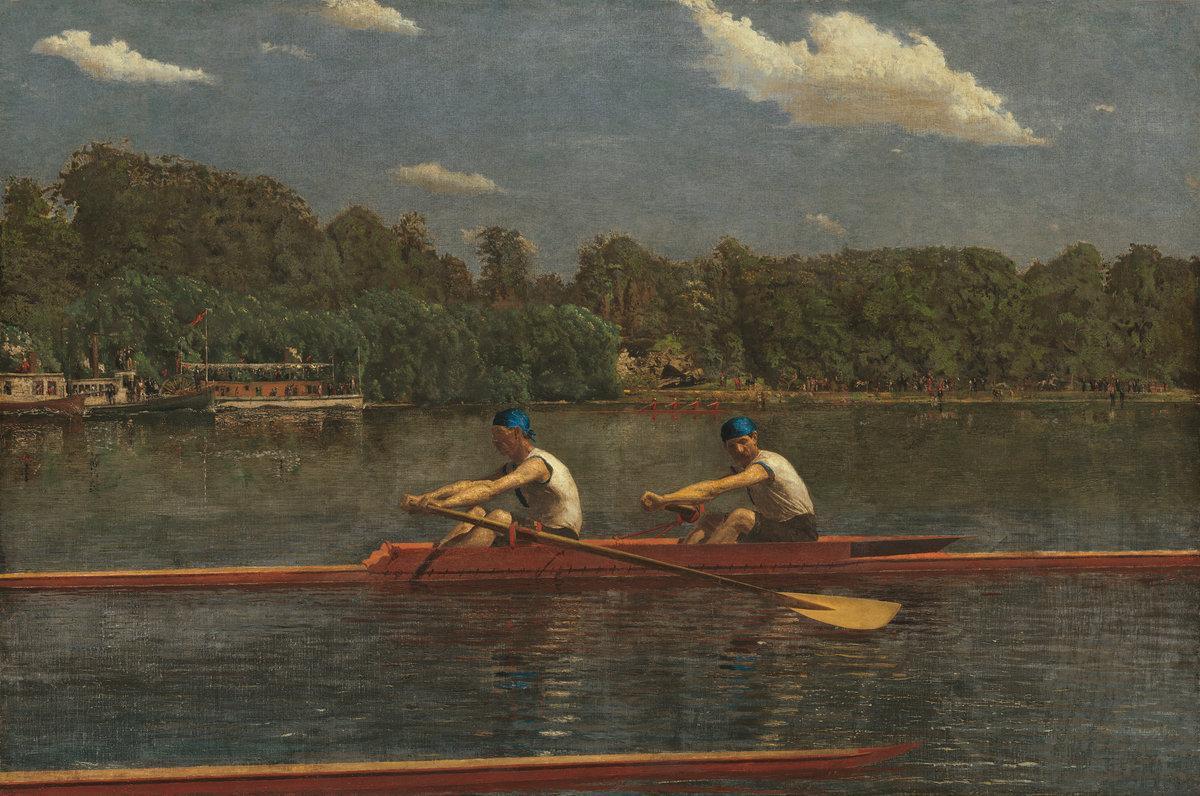 Thomas Eakins, The Biglin Brothers Racing