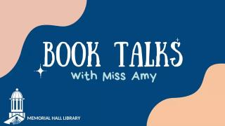 Booktalks with Miss Amy