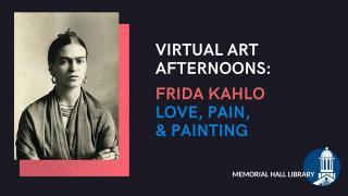 virtual art afternoon frida kahlo
