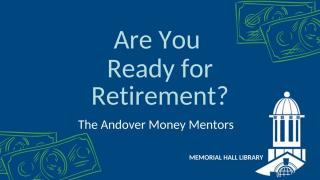Are You Ready for Retirement?