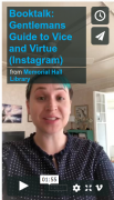 Booktalk: Gentlemans Guide to Vice and Virtue