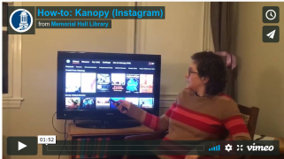 Kanopy How-To