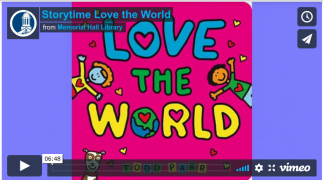 Storytime: Love the World