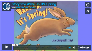 Storytime Wake Up, It's Spring
